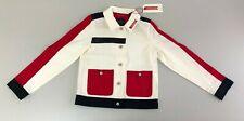 NWT Scotch & Soda Amsterdam Blauw Boys lightweight Jacket - Size 8
