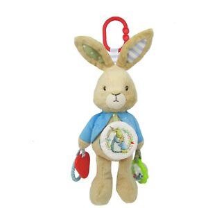 Beatrix Potter Peter Rabbit Plush Activity Toy New