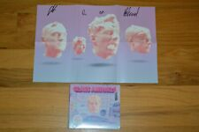 """Glass Animals """"Dreamland"""" Autographed Folded Poster with CD & COA ~ Entire Band"""