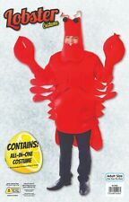 Adult Lobster Crab Funny Fancy Dress Costume Monster Sea Animal Mens Stag Night