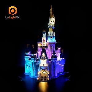LED Light Kit for LEGO 71040 Disney Castle LIGHTING MY BRICKS Cinderella 71040