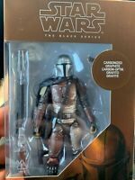 Star Wars The Black Series Carbonized Mandalorian Disney +