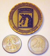 Challenge Coin - US Army - XVIII Airborne Corps - Special Troops BN - HQ Command