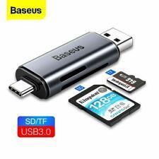 Carte Lecteur USB 3.0 Type C Micro SD Tf OTG Smart Mémoire Adaptateur Ordinateur