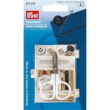Prym Reise - Nähset Nähsortiment Nadeln Knöpfe Schere Travel Box Nähgarn  651255