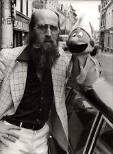 Vader Abraham with Smurf - Vintage Press Photo Photo Norbert Unfried (U-5969