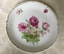Weiman Germany Serving Platter / Cake Plate Roses