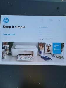 HP DeskJet 2722 All-in-One Wireless Printer - Brand New!