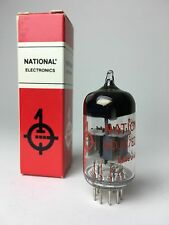NATIONAL 6DJ8 / ECC88 TUBE NOS 6922 1980's AMPLITREX TESTED (5 Avail)