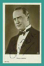 Harry Liedtke | actor | original-autógrafo en Ross-Star tarjeta postal