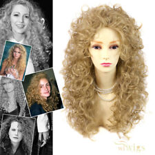 Wiwigs Untamed Long Golden Blonde Curly Wild Ladies Wig