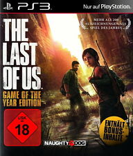 SONY PS3 The Last Of Us GOTY Game of the Year Edition PlayStation 3 OVP deutsch