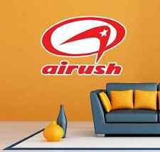 "Airush Surfing Kiteboarding Kite Red Room Wall Garage Decor Sticker Decal 25X20"""