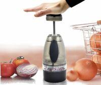 Onion Chopper Dicer Slicer Garlic Fruit Vegetable Stainless Kitchen Tool Press