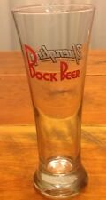 Yuengling Beer 'bock beer' pilsner 16 ounce Bar Glass Fluted Collectible Brewery