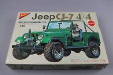 ZF1336 Nichimo 1/20 maquette voiture MC-2026 No. 4 Jeep CJ-7 4x4 AMC USA Moteur