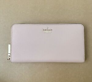Kate Spade Cameron Street Zip Around Wallet Lacey New Warm Vellum