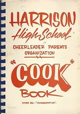*WEST LAFAYETTE IN 1985 HARRISON HIGH SCHOOL COOK BOOK INDIANA COMMUNITY RECIPES