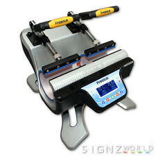 NEW IN ! DOUBLE TWIN 2 IN 1 Mug Heat Press ST-210 Sublimation Transfer Printing
