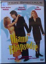 DVD MIAMI RHAPSODIE - Sarah Jessica PARKER / Antonio BANDERAS / Mia FARROW