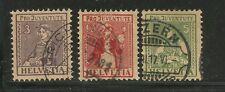 SVIZZERA - 033 - 1917 - ANNATA COMPLETA - PRO JUVENTUTE - NR. 154/6