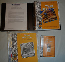FOSS Teacher Guide Wood and Paper, DVD and Notebook  (2000, Hardcover)