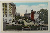 Washington DC Postcard Pennsylvania Avenue