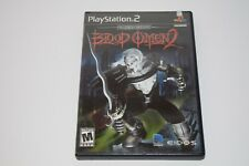 Blood Omen 2 (Sony PlayStation 2, 2002) Complete in Case