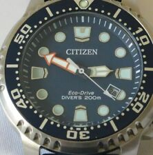 Citizen Divers 200m Eco Drive Blue - Full Box Set - Warranty