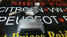 00-02 TOYOTA COROLLA 1.4 VVTI 16V 97BHP MANUAL ECU + LOCK SET #163 REF CL399