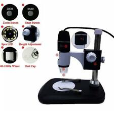 1600X Digital Microscope Endoscope with Stand USB 2.0 Magnification Portable