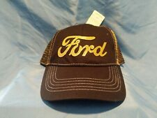 Ford Cap Hat Realtree Womens Ladies OFFICIAL Licensed Cotton Mesh Black Gold New