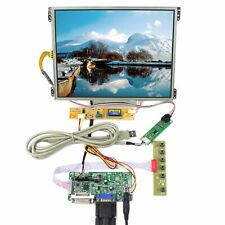 "RT2281 DVI VGA Control Board HT10X21 10.4"" IPS LCD Screen 1024x768 Touch Panel"