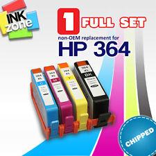 Full Set of non-OEM Ink for HP 364XL PhotoSmart B109 B8550 B8553 B8558 B8560