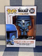 Star Wars Death Watch Mandalorian No Stripes FUNKO POP! #361 GameStop Exclusive