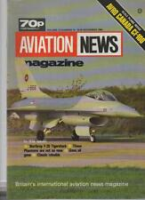 AVIATION NEWS MODEL MAGAZINE V13 N13 NORTHROP F-20 TIGERSHARK, GONE, ALL GONE