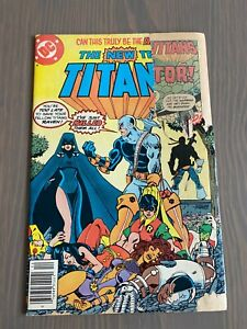 THE NEW TITANS #2 1980 DC Comics 1st Appearance DEATHSRTOKE the Terminator S