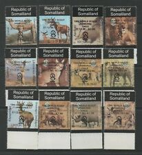 Thematic Stamps Animals - SOMALILAND 1999 DEF O/P SCOUTS black mint