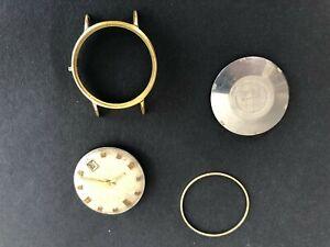 "Vintage"" SWISS"" 25 Jewel Automatic Mens watch movement . Incabloc Working"