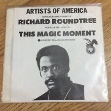 "RARE PROMO 7""• 'This Magic Moment'~ Richard Roundtree •A-Mono B-Stereo •AOA 115"