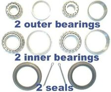 4 front wheel bearings and 2 seals Chevrolet 1971 - 1976 ALL Full Sized