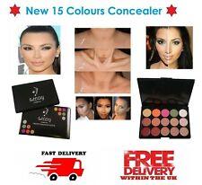 New 15 Colors Concealer Palette CL3 Set Face Makeup Contour Cosmetic Cream UK