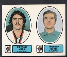 PANINI CALCIATORI CALCIO 1977-78 autoadesivo, N. 395, Cagliari-Silvano VILLA