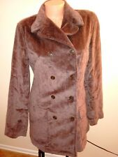 Women's  M J.Crew Corduroy  Jacket Double Breasted Wide Brown Mint Size MEDIUM