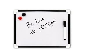 Shopping List Mini White Board Small A4 To Do Drawing Art Whiteboard Pen Eraser