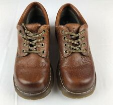 Women's  DR MARTENS AW004 Light Brown Oxford Leather Shoes Sz US 8 L UK 6 NICE