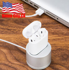 Portable Airpods Case Charging Stand Charger Dock Cradle For Apple Airpod Case