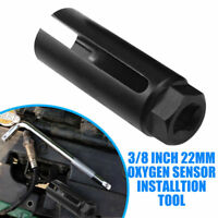 "Oxygen Sensor Socket 22mm 3/8"" Drive Lambda Installation Tool 8mm Cut-out #"