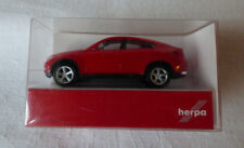 Herpa h0 1:87 - 024037 BMW x6 ™ ROSSO OVP