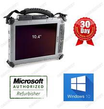 "XPLORE IX104C5 TABLET i7 1GHz 8G 80G SSD 10"" W10P TouchScreen Webcam WiFi SD HD"